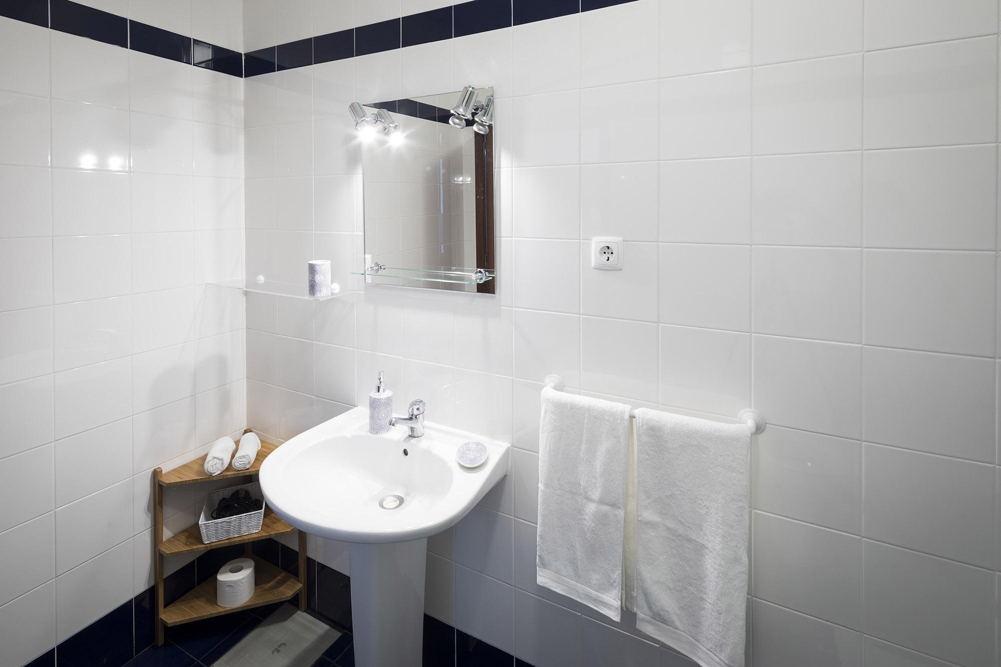 Quarto Ribafria: salle de bain