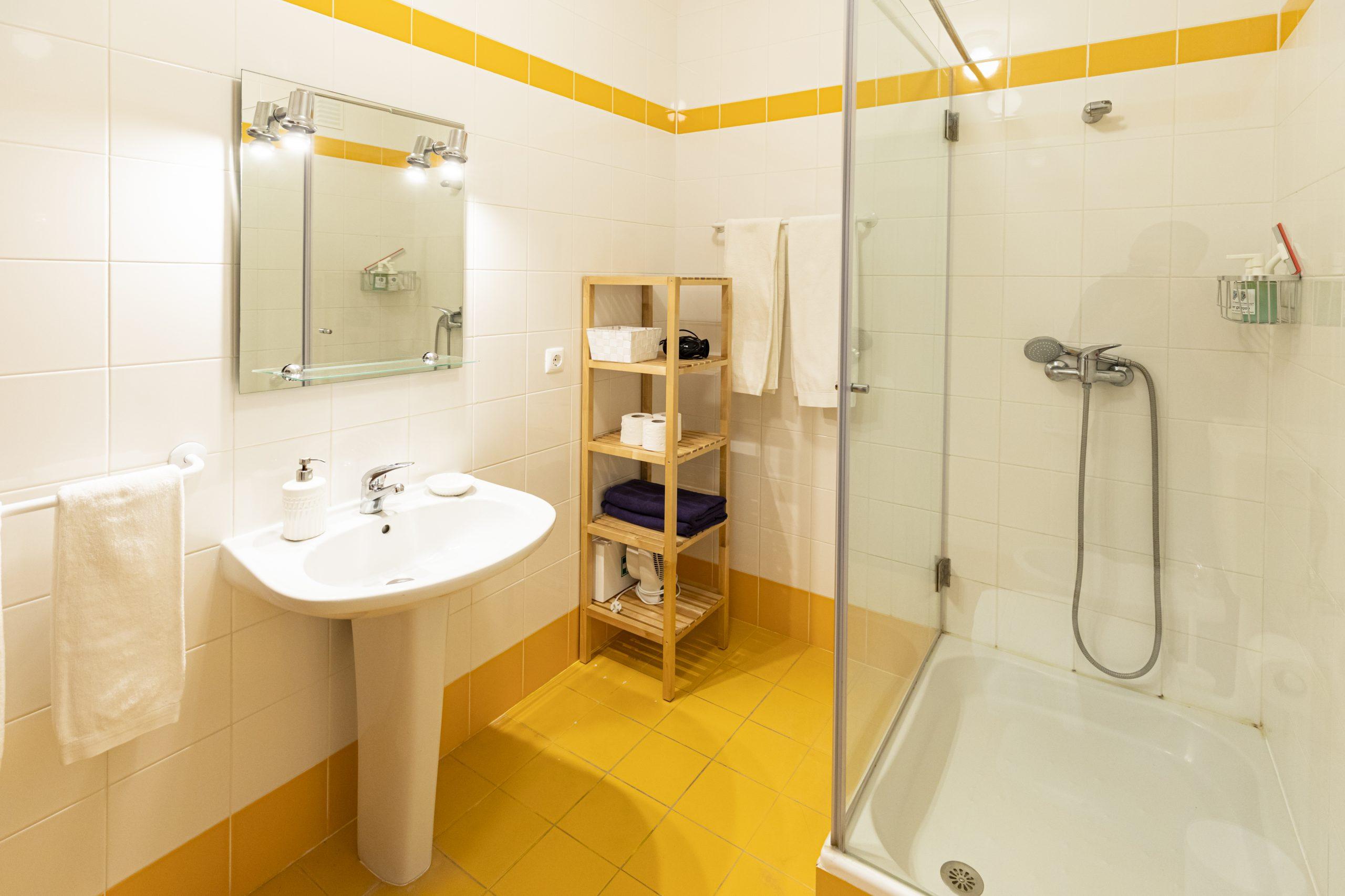 Casa de banho no apartamento Monserrate